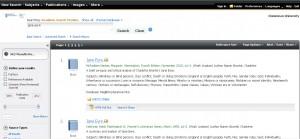 Simple Profile Results screenshot